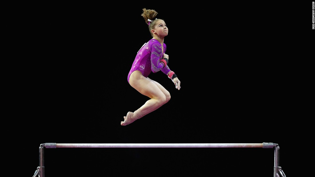 Ragan Smith was part of the championship team at the Pacific Rim Championships this year. She also was the balance beam champion at the meet.