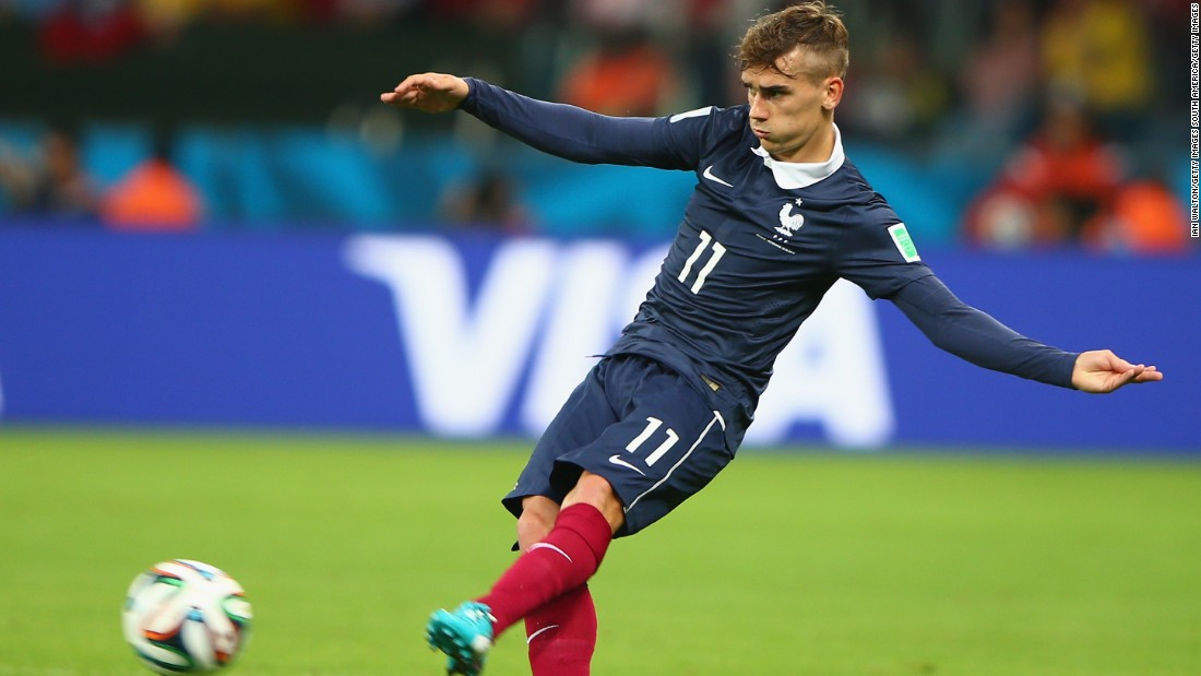 He went to the 2014 World Cup in Brazil but failed to find the target, and France lost to Germany in the quarterfinals.