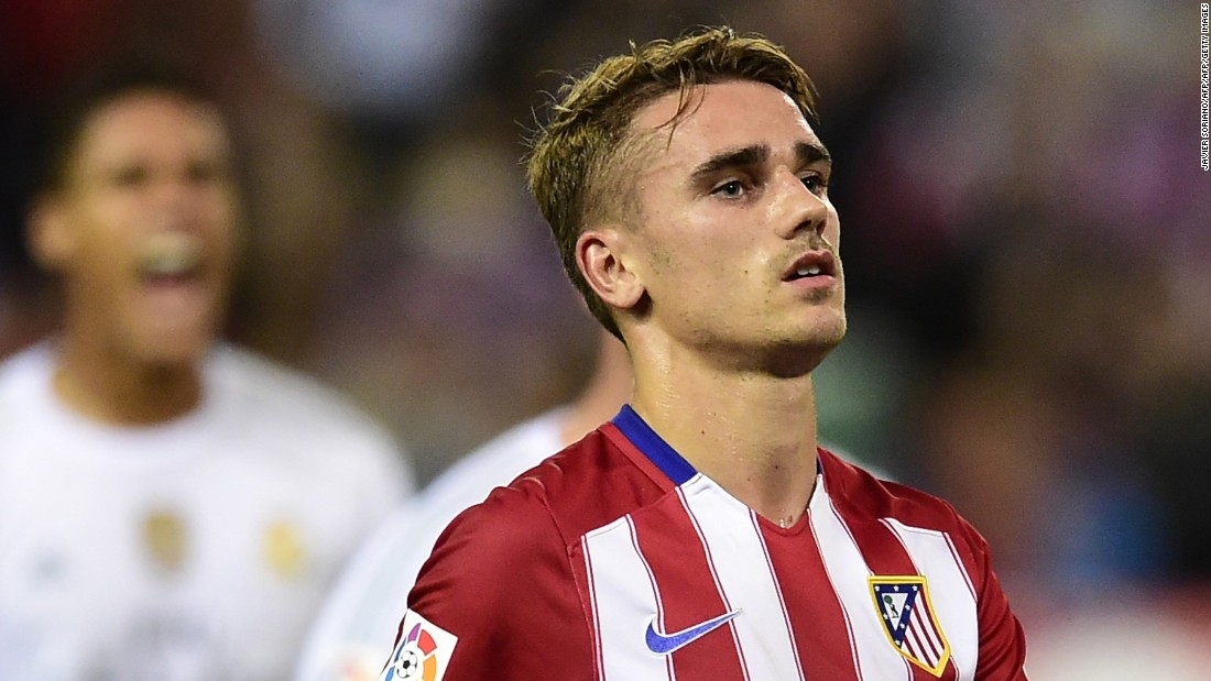 Griezmann's goals fired Atletico into the 2015-16 Champions League final. Trailing Real Madrid 1-0, Griezmann had the chance to equalize but smashed his penalty against the crossbar. After a 1-1 draw he scored in the ensuing shootout, but Real triumphed. He ended the season with 32 goals in 54 appearances.
