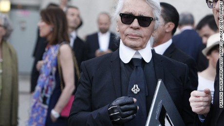 Karl Lagerfeld: 'Paris is a nightmare now'