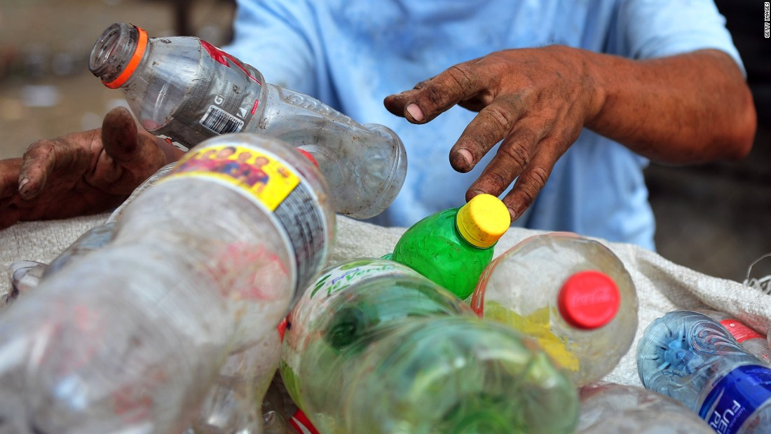 The new technique turns plastic into fuel by mixing it with other materials.
