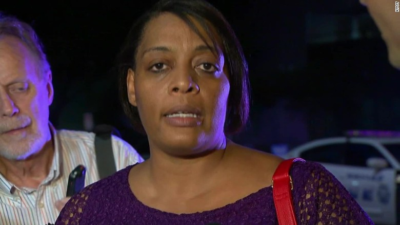 Dallas shooting Mom shields son _00000213
