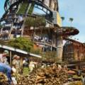 Lagos shanty megastructures 12