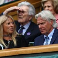 Bjorn Borg watching
