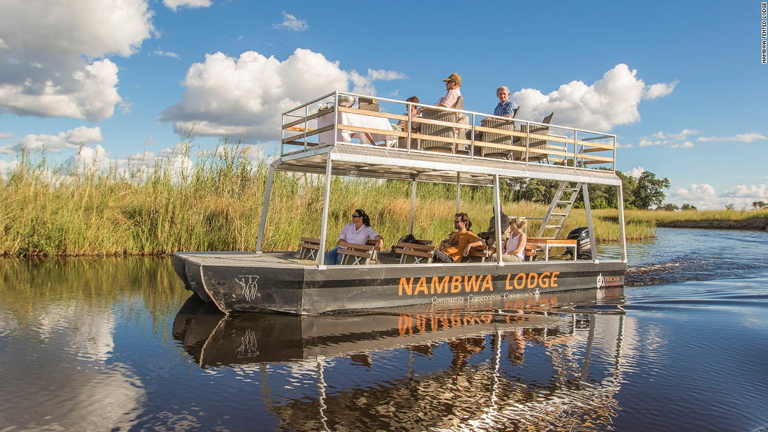 Nambwa Tented Lodge is one of the small handful of new, exclusive eco-lodges that have opened up across Bwabwata's various community-managed concessions.