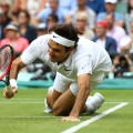 Federer falls wimbledon semifinals