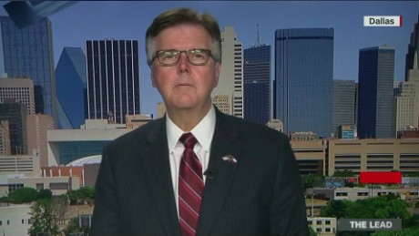 texas lieutenant governor dallas shootings police patrick lead intv_00000000