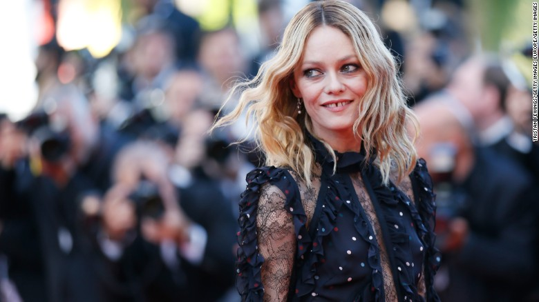 "CANNES, FRANCE - MAY 15:  Vanessa Paradis attends the ""From The Land Of The Moon (Mal De Pierres)"" premiere during the 69th annual Cannes Film Festival at the Palais des Festivals on May 15, 2016 in Cannes, France.  (Photo by Tristan Fewings/Getty Images)"