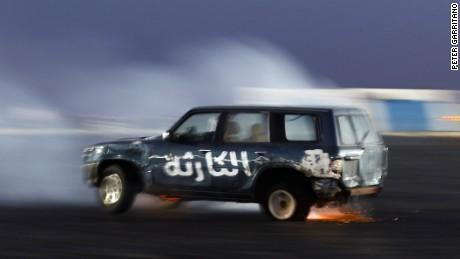 Drifting SUVs in the UAE: The hobby of 'hajwalah'
