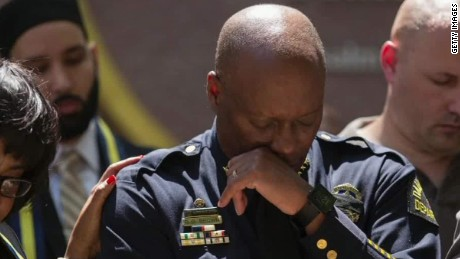 Tragedies mark Dallas police chief's career