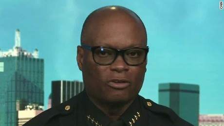 Chief: We'll give our lives for your right to protest