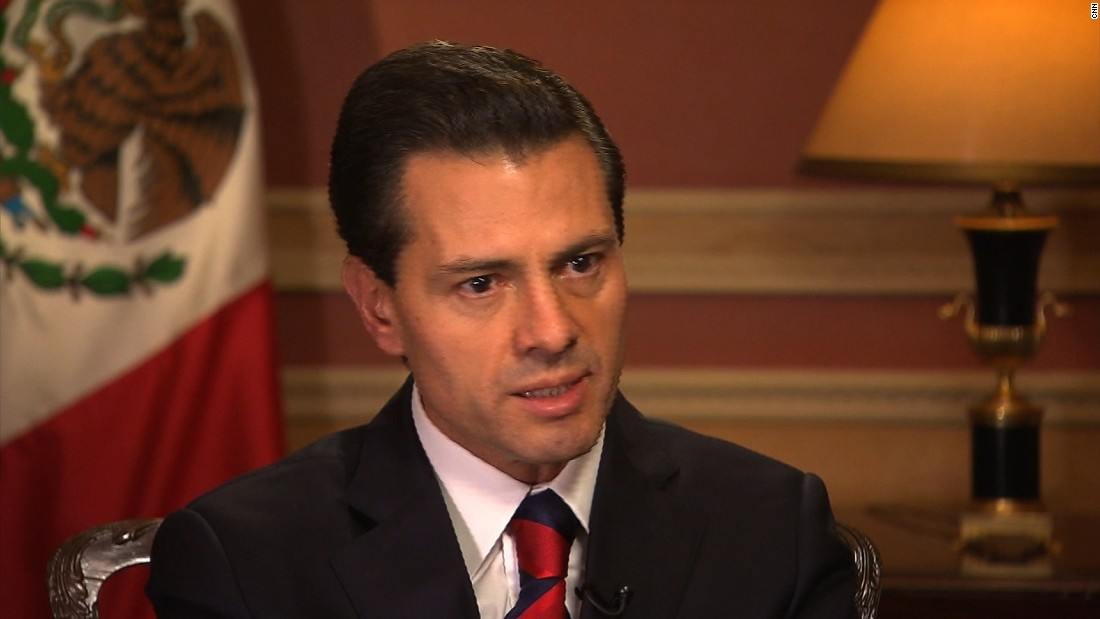 Mexican president: 'No way' we pay for Trump's wall - CNN ...