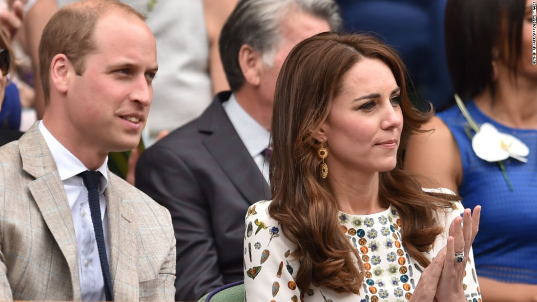 The Royal Box was full of famous faces with Prince William, Duke of Cambridge and Catherine, Duchess of Cambridge, both in attendance.