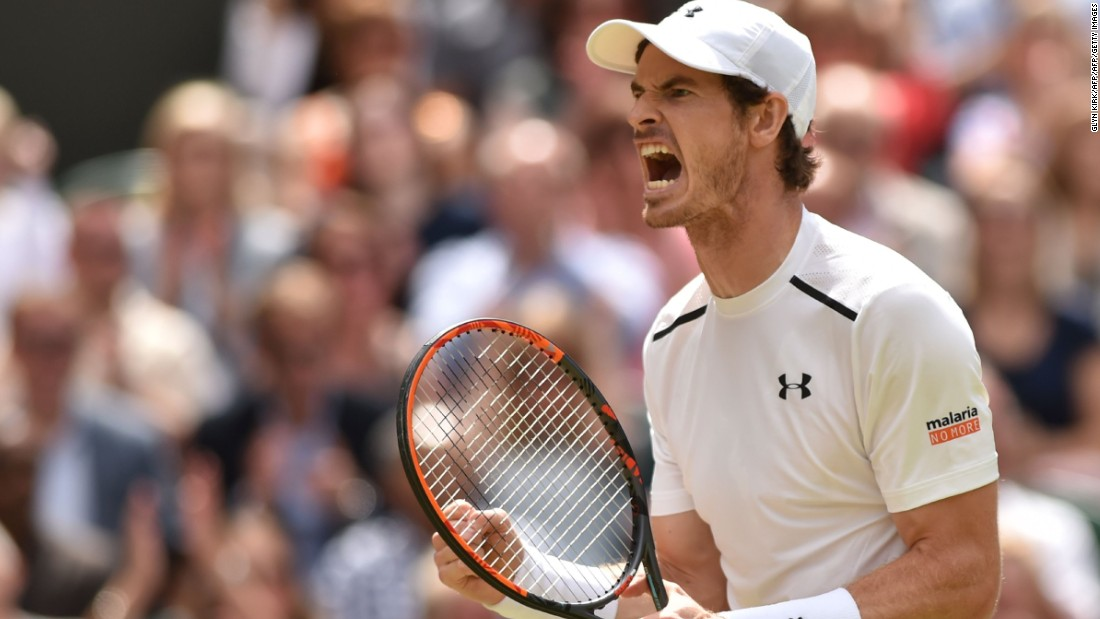 Andy Murray defeated Milos Raonic to win the 2016 Wimbledon title after a 6-4 7-6 7-6 victory on Centre Court.