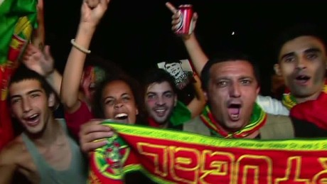 Portugal fans ecstatic after Euro 2016 win