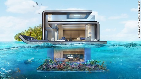 These next-level underwater villas are making waves