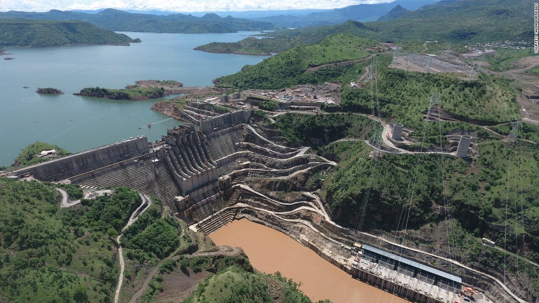 """Harvesting the power of the Omo River, approximately 300km south west of the capital Addis Ababa, <a href=""""http://www.salini-impregilo.com/en/projects/in-progress/dams-hydroelectric-plants-hydraulic-works/gibe-iii-hydroelectric-project.html"""" target=""""_blank"""">Gibe III</a> is one of the largest of its kind in Africa."""