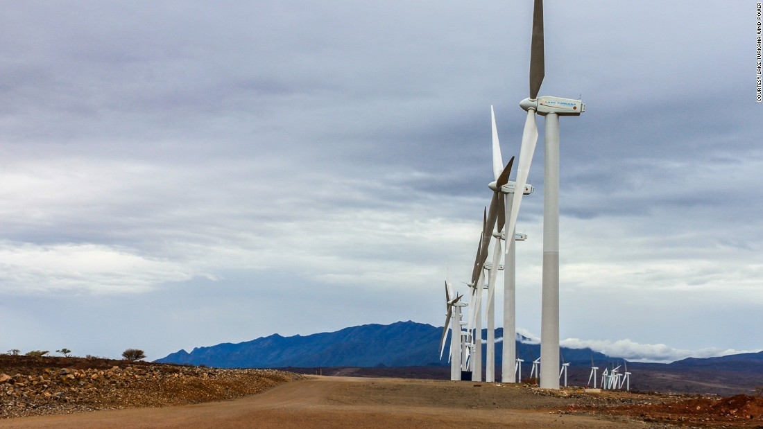 At least 100 turbines are expected to be ready on site by September, 2016. On completion, the project will comprise 365 wind turbines, each with a capacity of 850 kilowatts, and will be connected to the national grid system. The company hopes to produce 18% of Kenya's electricity generating capacity when it comes online.