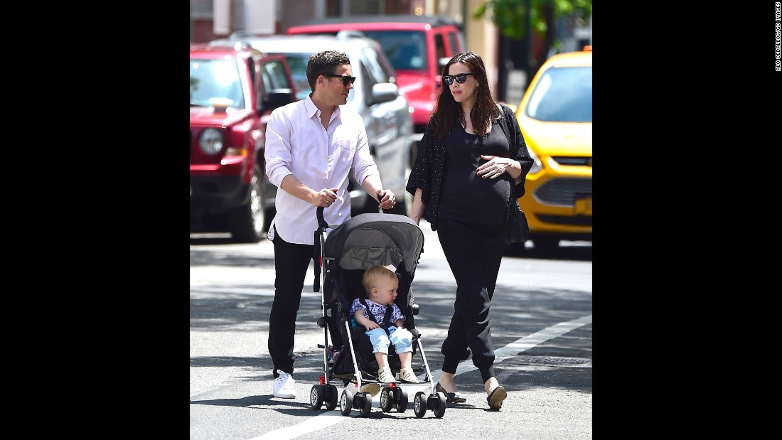 Liv Tyler and fiancé Dave Gardner are parents again. The pair, seen here with son Sailor Gene Gardner in May 2016 in New York City, welcomed daughter Lula Rose Gardner in July. They both also have sons from previous relationships.