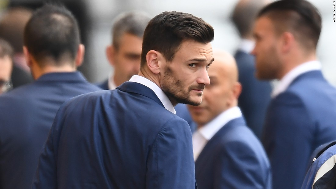 The France squad's homecoming was a decidedly more sombre affair. Hugo Lloris, captain of both club and country, would have been the man to lift the trophy -- had Éder not broken French hearts.