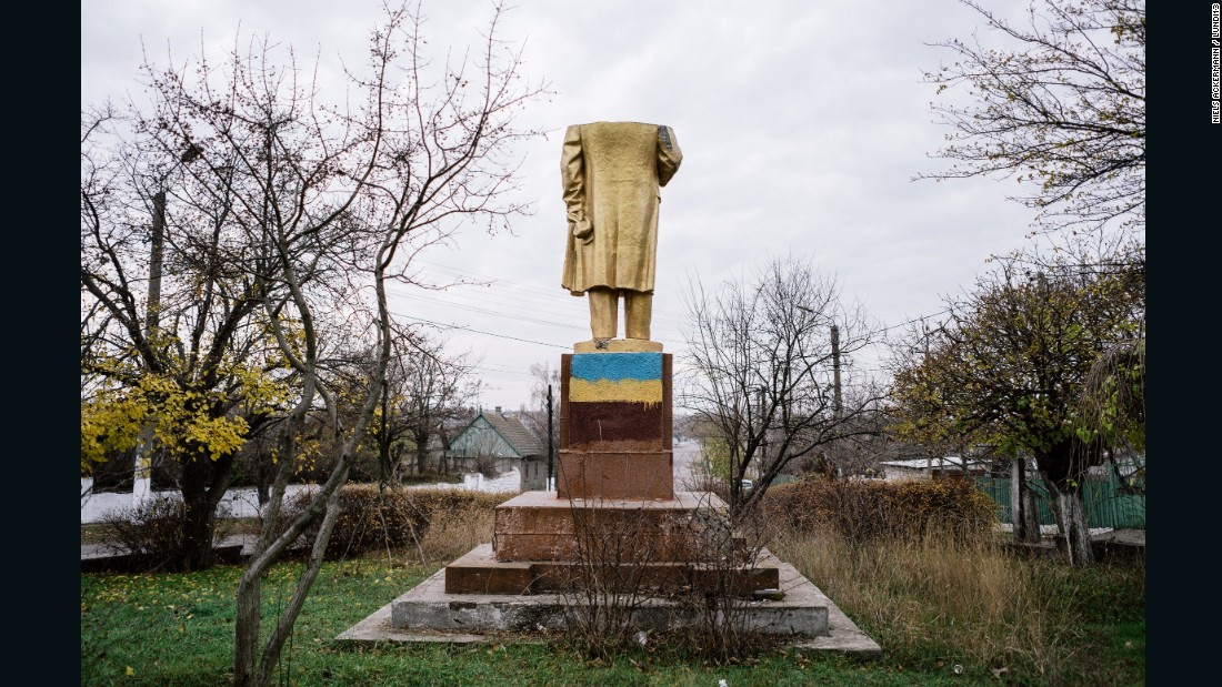 There were once about 5,000 statues of Lenin in Ukraine, say Gobert and Ackermann -- a number more impressive when you consider Russia, 28 times its size, held only 2,000 more. Approximately half of Ukraine's Lenins disappeared with independence in 1991, but a further 1,200 have fallen since unrest began in 2013.