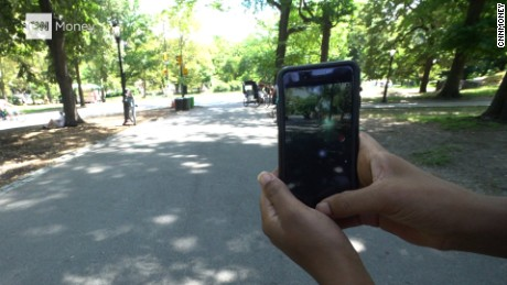 Here's what playing Pokemon Go is like