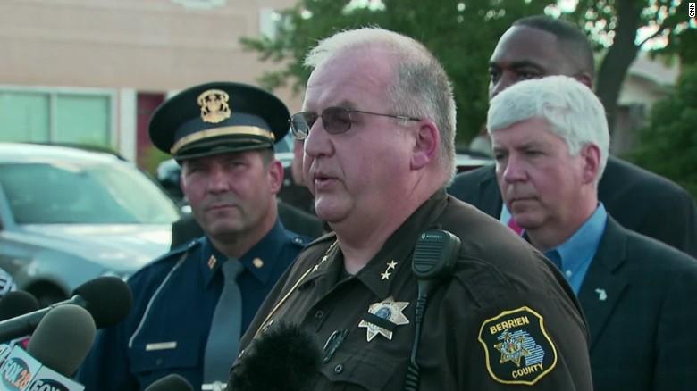 Berrien County Police: Gunman disarmed officer