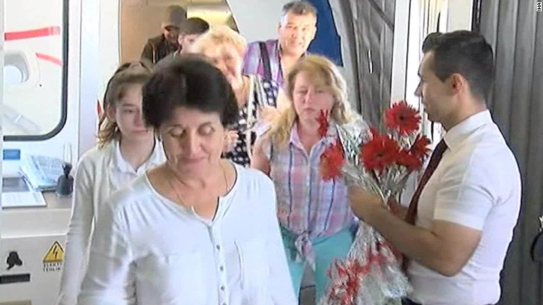 Russian tourists come back to Turkey