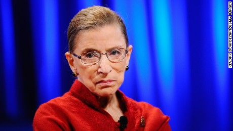Ruth Bader Ginsburg didn't back off Trump criticism