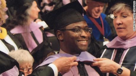 Given Kachepa, at his graduation