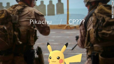 Pokémon Go helps Marines to catch suspect