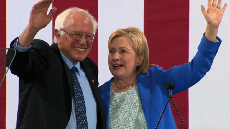 Bernie Sanders endorses Hillary Clinton (Entire speech)