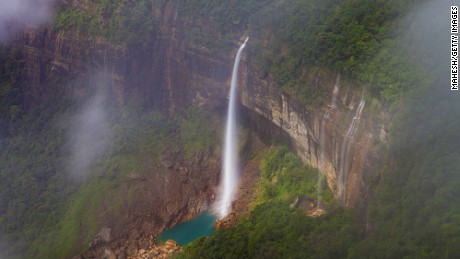 One of the most photogenic spots in the area is Nohkalikai Falls -- the highest waterfall in India at 1,115 feet tall.