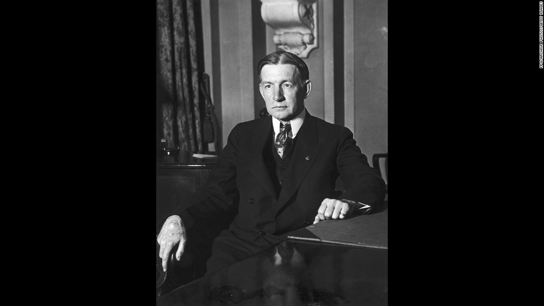 "A lawyer and financial whiz, Dawes was put in charge of supply procurement for American troops in Europe during World War I. When called to testify in 1921 before a congressional investigation on war expenditures, he <a href=""http://millercenter.org/president/essays/dawes-1923-vicepresident"" target=""_blank"">railed so colorfully </a>that his testimony became a Government Printing Office best-seller. Dawes won a Nobel Peace Prize in 1925 for orchestrating a fix to Germany's failing economy. His tenure with President Calvin Coolidge was frosty."