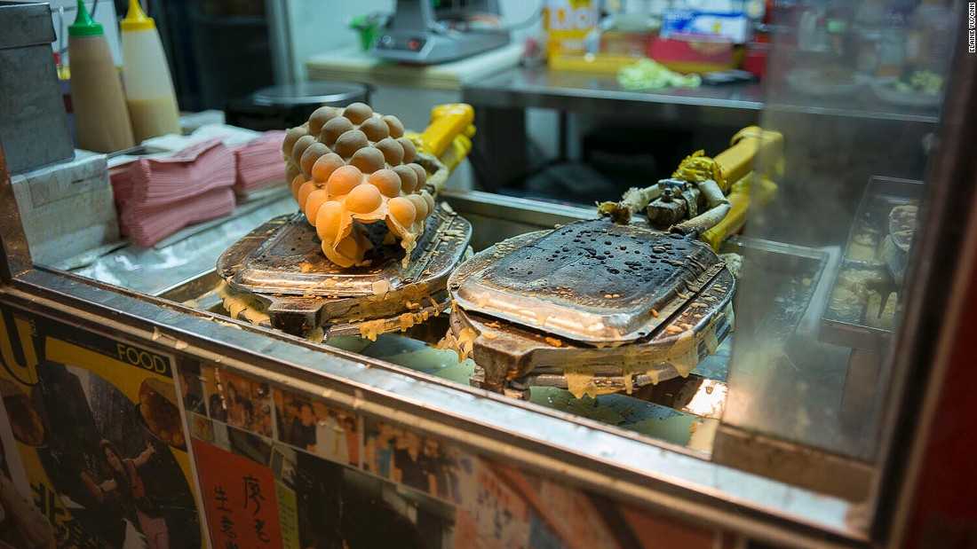 You know it's a legit street food city when the Michelin Guide debuted a street food category there. A crispy Hong Kong-style egg waffle is one of the city's favorites.