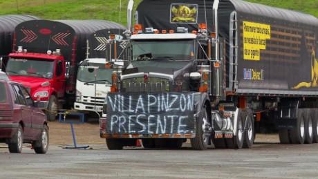 cnnee pkg ramos paro camioneros colombia_00005329