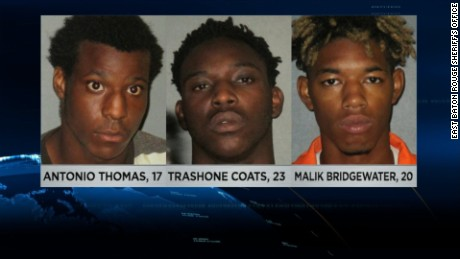 Three arrested in Baton Rouge police shooting plot