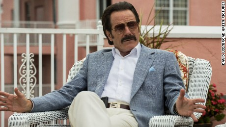 "Bryan Cranston as Robert Mazur in the movie ""The Infiltrator."""
