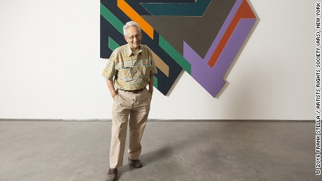 Sprüth Magers showing works by American artist Frank Stella at their Berlin gallery.