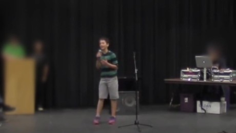 Teen slam poet apologizes for white privilege