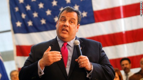 HAMMONTON, NJ  - MARCH 29:  New Jersey Governor Chris Christie speaks at a Reform Agenda Town Hall meeting at the New Jersey Manufacturers Company facility March 29, 2011 in Hammonton, New Jersey. A State Supreme Court appointed judge ruled on March 22, 2011 that his eight percent education budget cuts last year had violated New Jersey law because the state was unable to fulfil it's educational obligations. (Photo by Jessica Kourkounis/Getty Images)