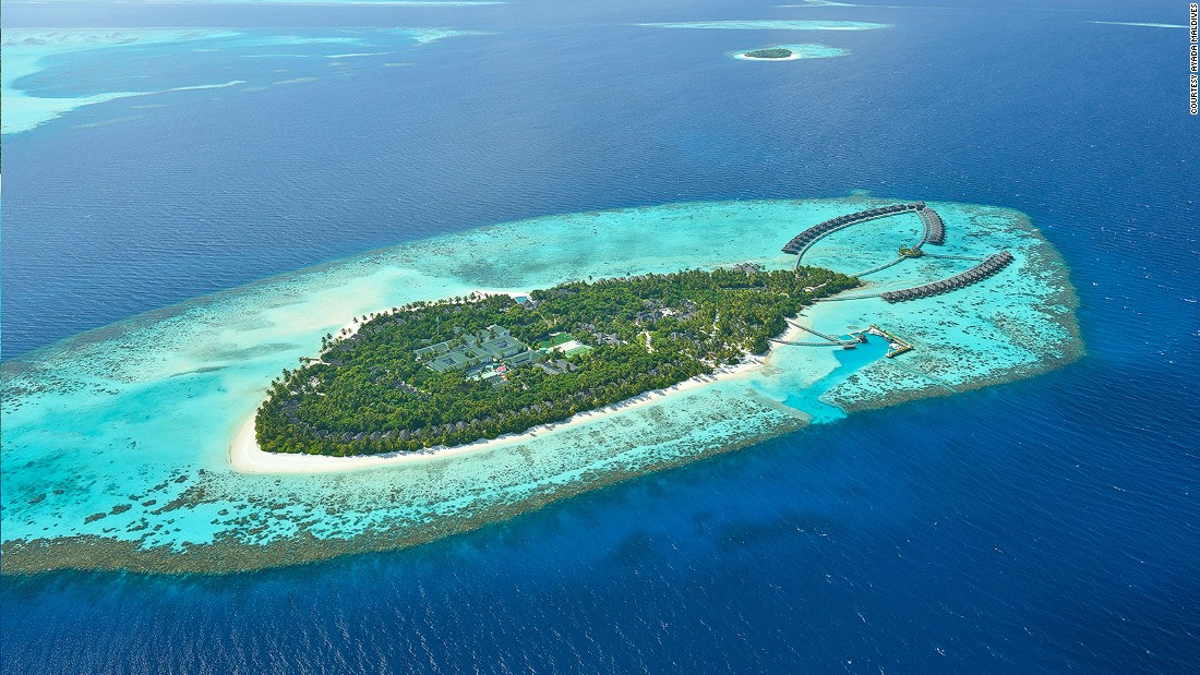 "<strong>Gaafu Dhaalu Atoll, Maldives:</strong> Few places evoke ""away from it all"" like Maldives, the Indian Ocean island nation of tropical paradise beaches. Five-star resort <a href=""http://www.ayadamaldives.com"" target=""_blank"">Ayada Maldives</a>, pictured, is on the southern rim of the atoll."