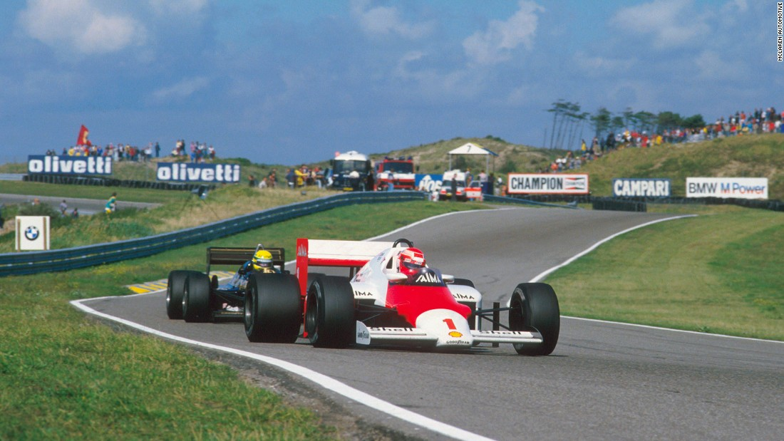 Both Niki Lauda and Alain Prost drove for McLaren at the 1985 Dutch Grand Prix, where Lauda scored his last career victory.