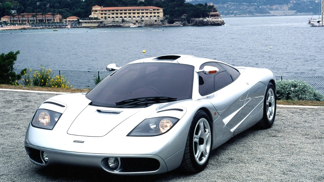 The remarkable McLaren F1, introduced in 1992, was the company's first road car and paved the way for its future success in the supercar market.