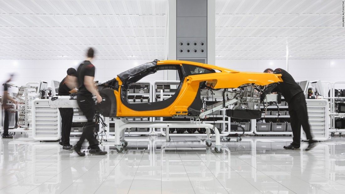 The McLaren Technology Center in Woking, Surrey, UK designed by Foster + Partners is one of the world's most advanced car factories as well as an architectural masterpiece.