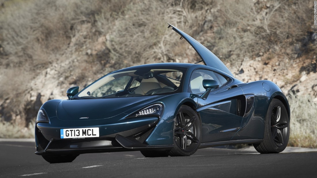 The stunning new McLaren 570GT, the company's first grand tourer, is the latest addition to its model lineup.
