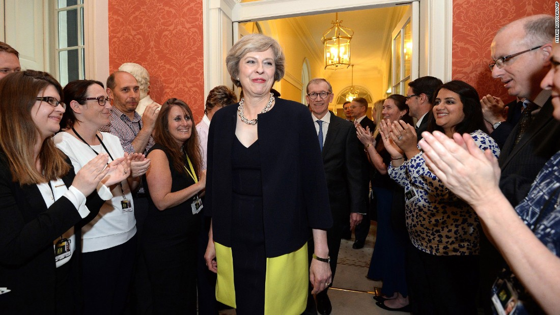 Theresa may becomes new british prime minister - Office of prime minister uk ...