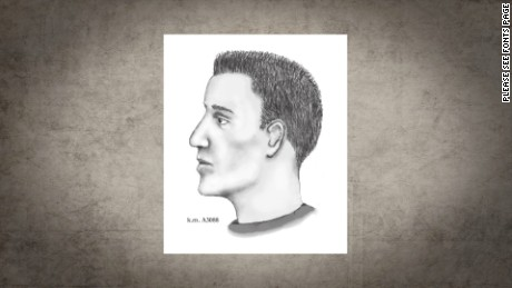 Police issued this sketch of a suspect in serial killings last summer.