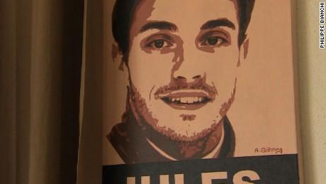 Portrait of Jules Bianchi.