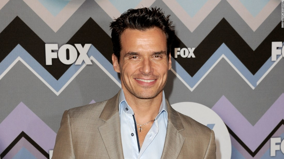 Actor Antonio Sabato Jr.
